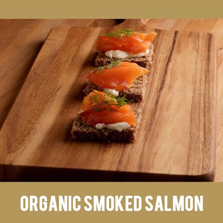 Buy Irish Organic Smoked Salmon from Duncannon Smokehouse, Wexford, Ireland