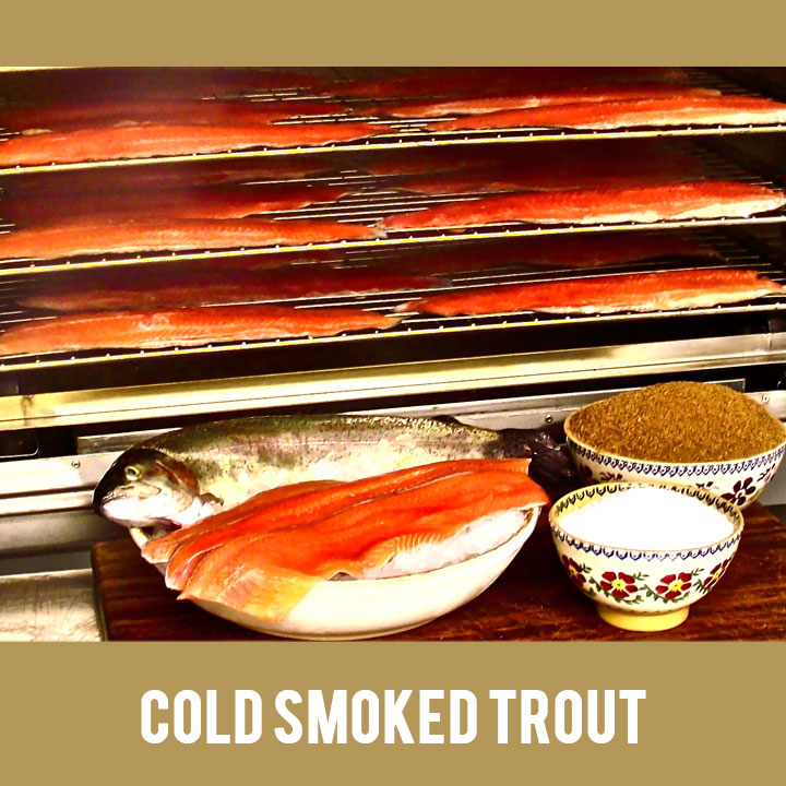Buy Sustainable Cold Smoked Irish Trout from Duncannon Smokehouse, Wexford, Ireland