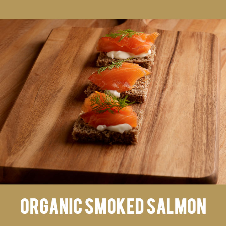Buy Irish Organic Smoked Salmon from Duncannon Smokehouse, Wexford, Ireland
