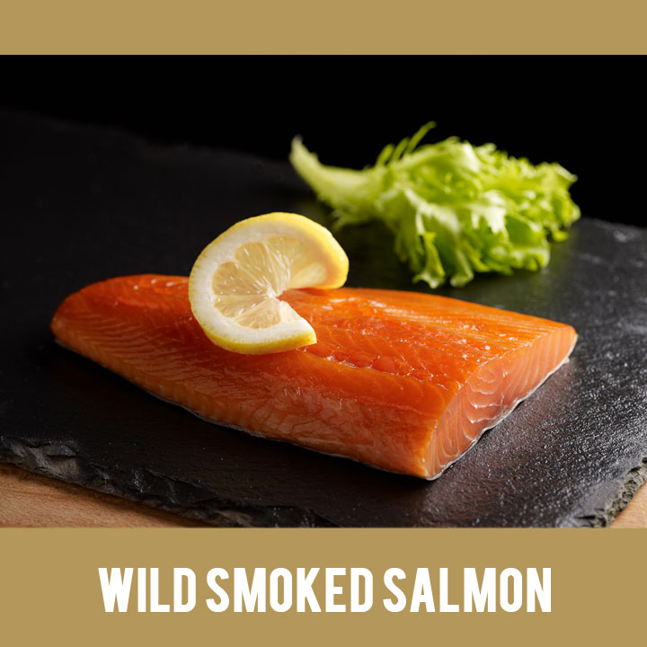 Buy Irish Wild Smoked Salmon from Duncannon Smokehouse, Wexford, Ireland